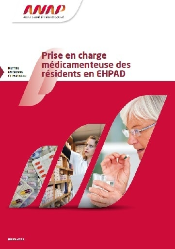 ANAP prise en charge medicamenteuse EHPAD