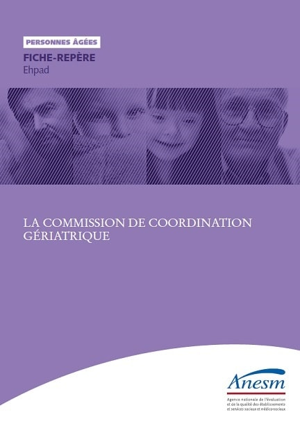 Commission coordination geriatrique