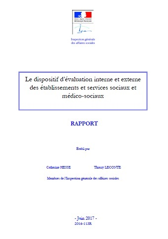 IGAS dispositif evaluation interne externe